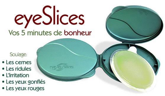 eyeslices meilleur patch anti cernes anti poches du contour des yeux islices exclusif en france. Black Bedroom Furniture Sets. Home Design Ideas