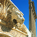 Baalbeck, le lion romain