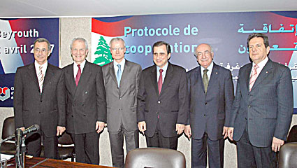 Affaires business et economie du liban for Chambre de commerce de beyrouth