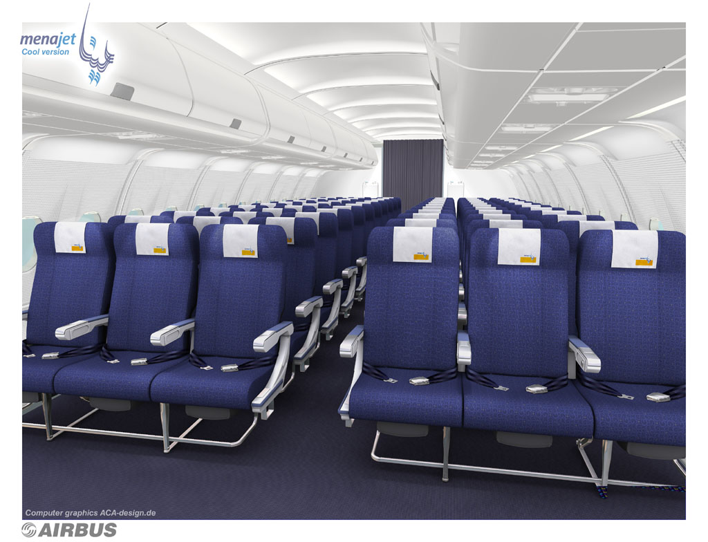 Menajet lowcost airlines low fare company beyrouth paris for Interieur avion air france